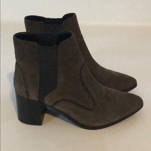 8 Zara Woman Brown Black Ankle Booties
